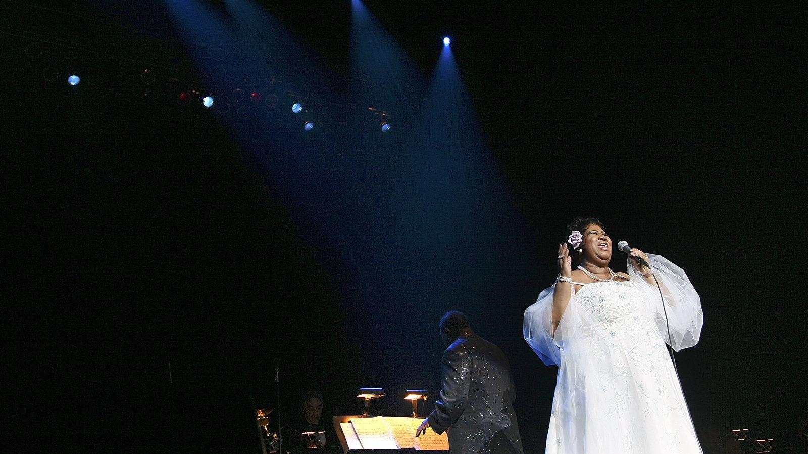 Aretha Franklin voice