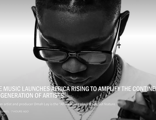 APPLE MUSIC LAUNCHES AFRICA RISING TO AMPLIFY THE CONTINENT'S NEXT GENERATION OF ARTISTS  (EDM)